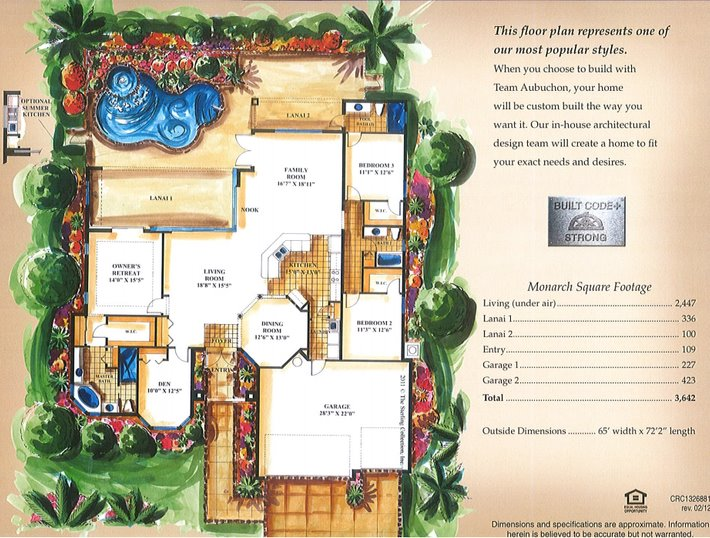 Floor Plan for Dream View - Vacation Home with Spectacular View