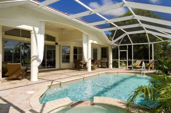 Typisches Cape Coral Ferienhaus